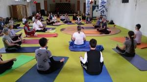 yoga aux petits châtelets