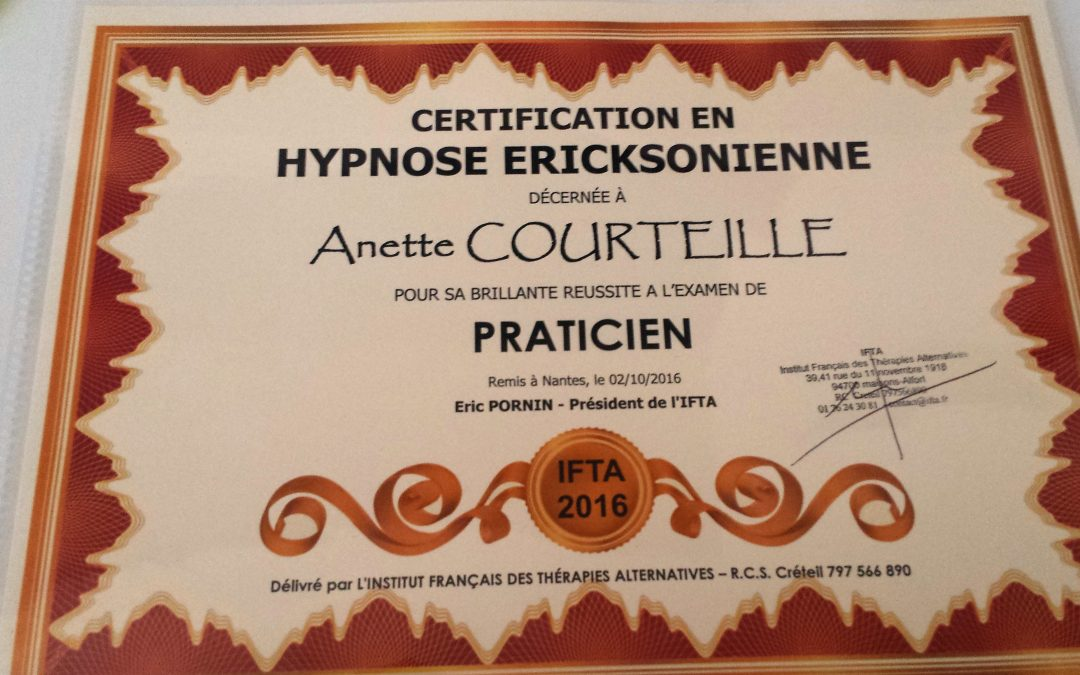 L'HYPNOSE ERICSONIENNE: UNE THÉRAPIE BREVE