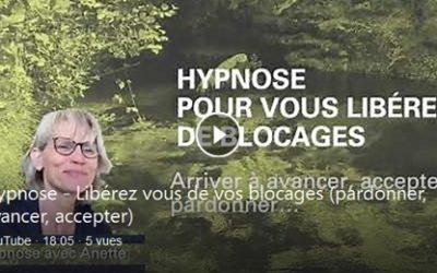 Vidéos d'auto-hypnose et yoga sur YouTube
